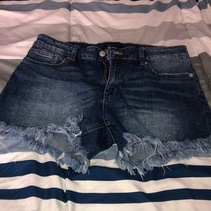 JUST USA jean shorts excellent condition